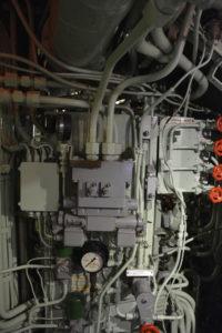 Maschinenraum im U-Boot