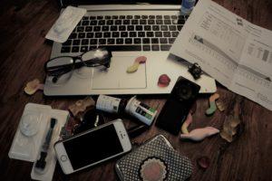 Schreibtisch der Zuckemrutter